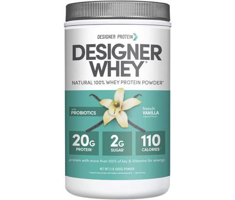 Designer Protein - Designer Whey Protein Powder -French Vanilla (2lb)