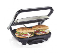 Hamilton Beach - Stainless Steel Electric Panini Maker & Grill