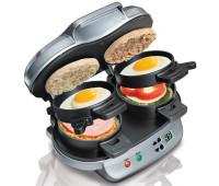 Hamilton Beach - Double Breakfast Sandwich Maker