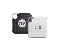 Tile Pro Item Finder with Replaceable Battery - Combo 2 Pack