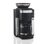 Hamilton Beach - 12-Cup Coffeemaker w/ Automatic Grounds Dispenser