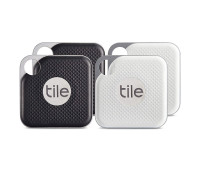 Tile Pro Item Finder with Replaceable Battery - Combo 4 Pack