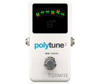 TC Electronic - PolyTune 3 Mini Guitar Pedal Tuner with Multiple Tuning Modes and Built-In Bonafide Buffer
