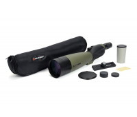 Celestron Ultima 100 Straight Spotting Scope – Multi-Coated Optics for Bird Watching, Wildlife, Scenery and Hunting – Waterproof and Fogproof – Includes Soft Carrying Case