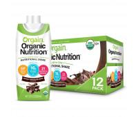 Orgain - Organic Nutrition Shake - Creamy Chocolate Fudge (11oz, 12 Pack)