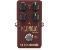 TC Electronic - MojoMojo Overdrive Guitar Stompbox Pedal with Extra Headroom, Precise Controls and a Voicing Switch
