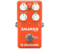 TC Electronic - Shaker Vibrato Guitar Stompbox Pedal with 2 Vibrato Types, Easy Controls and Built-In TonePrint Technology