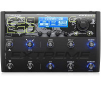 TC Helicon - VoiceLive 3 Extreme Vocal and Guitar Effects Performance Floor Pedal with Backing Tracks, Looping, Automation and Audio Recording