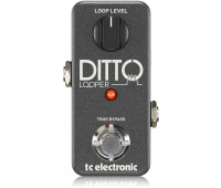 TC Electronic - Ditto Looper Guitar Pedal with 5 Minutes of Looping Time, Analog-Dry-Through and True Bypass