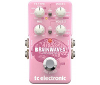 TC Electronic - Brainwaves Pitch Shifter Guitar Stompbox Pedal with  4 Octave Dual Voices