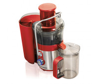 Hamilton Beach - Easy Clean Big Mouth 2-Speed Premium Juice Extractor Stainless/Red