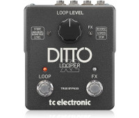TC Electronic - Ditto X2 Guitar Looper Pedal with Dedicated Stop Button and Loop Effects