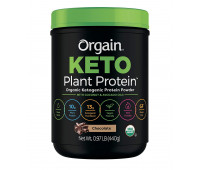 Orgain - Plant Based Keto Collagen, Gluten Free Protein Powder with MCT Oil - Chocolate (0.97 LB)