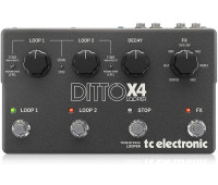 TC Electronic - Ditto X4 Dual-Track Guitar Looper Pedal with Powerful Loop Effects