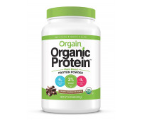 Orgain - Organic Vegan, Non-GMO Plant Based Protein Powder - Creamy Chocolate Fudge (2.03 LB)