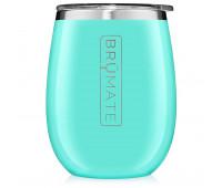 BrüMate - UNCORK'D XL 14oz Wine Tumbler - Aqua Blue