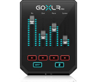 TC Helicon - GoXLR Mini Mixer & USB Audio Interface with Midas Preamp for Streamers, Gamers & Podcasters