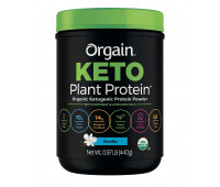Orgain - Plant Based Keto Collagen, Gluten Free Protein Powder with MCT Oil - Vanilla (0.97 LB)