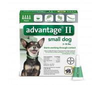 Bayer - Advantage II Dog Small 3-10#