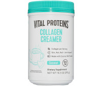 Vital Proteins - Collagen Coffee Creamer, No Dairy & Low Sugar Powder with Collagen Peptides Supplement - Coconut, 11.2oz