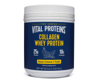 Vital Proteins - Collagen Whey Protein (Banana & Cinnamon, 20.8oz)