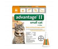 Bayer - Advantage II Cat Smlᅠ 5 - 9#