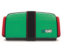 mifold Grab-and-Go Car Booster Seat, Lime Green
