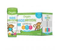 Orgain - Kids Protein Organic Nutritional Shake - Vanilla (8.25oz, 12 Pack)
