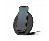 Native Union Dock Wireless Charger Stand - High Speed [Qi Certified] 10W Versatile Fast Wireless Charging Stand - Compatible with iPhone 11/11 Pro/11 Pro Max/Xs/XS Max/XR/X/8 Plus (Slate Gray)