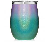 BrüMate - UNCORK'D XL 14oz Wine Tumbler - Glitter Mermaid