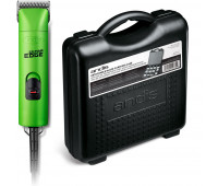 Andis Pro-Animal Bundle With Andis UltraEdge Super 2-Speed Detachable Blade Clipper, Professional Animal/Dog Grooming, AGC2 - Green + Blade Carrying Case