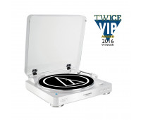 Audio Technica - AT-LP60WH-BT Wireless Stereo Turntable