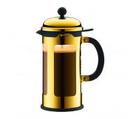 Bodum - French Press coffee maker, 8 cup, 1.0 l, 34 oz, s/s