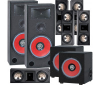BIC America RTR-EV15 7.2 Home Theater System with 5 FH6-LCR + 2 RTR-EV1200