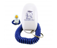 Teacher's Pet - Dog Training Clicker with Wrist Strap - Puppy Behavioral Education Training Clicker for Positive Reinforcement