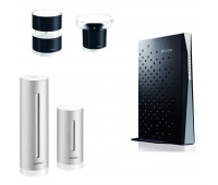 Netatmo bundle with Netatmo Weather Station, NWS01-US +  Rain Gauge for Netatmo Weather Station + Wind Gauge for Netatmo Weather Station + TP-LINK Archer CR700 AC1750 Wireless Dual Band 16x4 DOCSIS 3.0 Cable Modem Router