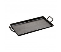 "Lodge 18 x 10"" Seasoned Carbon Steel Griddle"