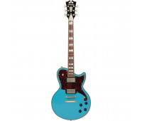 D'Angelico - Deluxe Brandon Niederauer Atlantic Single-Cutaway Solid Body Electric Guitar with Stopbar Tailpiece