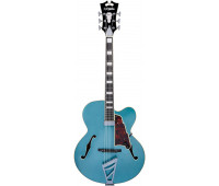 D'Angelico - Premier Series EXL-1 Hollowbody Electric Guitar with Stairstep Tailpiece - Ocean Turquoise
