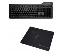 Das Keyboard 4 Professional Mechanical Keyboard  + Das Keyboard Triangle Mouse Pad