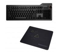 Das Keyboard 4 Ultimate Mechanical Keyboard  + Das Keyboard Triangle Mouse Pad
