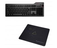Das Keyboard 4 Professional for Mac Mechanical Keyboard  + Das Keyboard Triangle Mouse Pad
