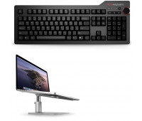 Das Keyboard Bundle With 4 Professional Mechanical Keyboard  - Cherry MX Blue + Twelve South HiRise for MacBook