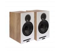 Elac Debut Reference 6.2 Bookshelf Speaker Pair - White/Oak