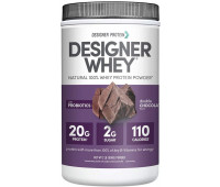 Designer Protein - Designer Whey Protein Powder - Double Chocolate (2lb)