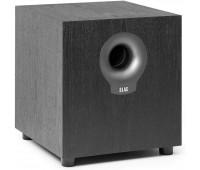 ELAC Debut 2.0 DS10.2 200 Watt Powered Subwoofer, Black