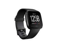 Fitbit - Versa Smartwatch Black/Black Aluminum