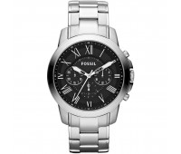 Fossil Men's Grant Chronograph Stainless Steel Watch