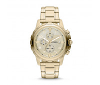Fossil Men's Dean Chronograph Gold-Tone Stainless Steel Watch