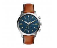 Fossil Men's Townsman 44mm Chronograph Luggage Leather Watch